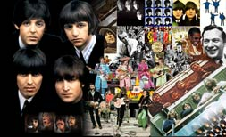 Collage Beatles